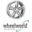 Wheelworld WH11 7,5X17 5/112 ET28 Arktic Silber lackiert