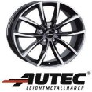 Autec Astana 7X17 5/108 ET50 Schwarz poliert