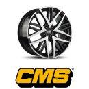 CMS B1 8X19 5/112 ET30 Diamond Black Gloss