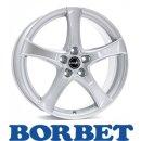 Borbet F2 5,5X14 4/100 ET35 Brilliant Silver