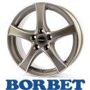 Borbet F2 5,5X14 4/100 ET35 Graphite Polished