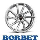 Borbet VTX 6,5X20 5/114,30 ET33 Brilliant Silver